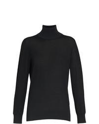 Burberry Silk Cashmere Roll Neck Sweater