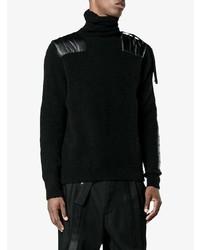 Moncler X Craig Green Black Wool Blend Sweater
