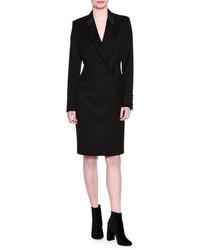 Stella McCartney Wool Tuxedo Dress Black