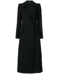 Alexander McQueen Tweed Tailored Coat