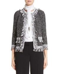St. John Collection Speckled Tweed Jacket
