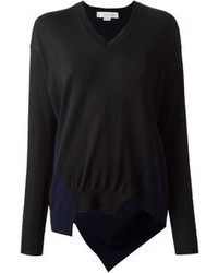 Stella McCartney Asymmetric V Neck Sweater