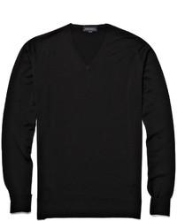 John Smedley Bobby Merino Wool V Neck Sweater
