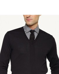 Ralph Lauren Black Label Wool Cashmere V Neck
