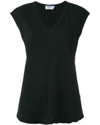 Denim v neck t shirt medium 4105621