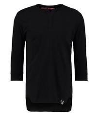 INDICODE JEANS Dex Long Sleeved Top Black
