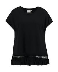 Junarose Print T Shirt Black Beauty