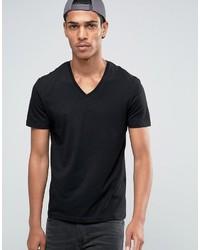 Celio V Neck T Shirt In Slim Fit