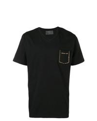 Philipp Plein V Neck T Shirt