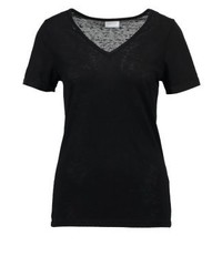 Vila Visumi Basic T Shirt Black