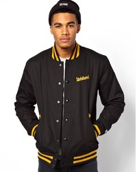 Undefeated Baseball Jacket In Twill
