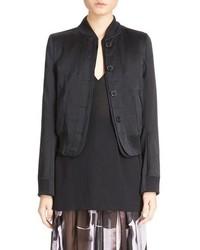 Ann Demeulemeester Button Front Bomber Jacket