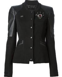 Philipp Plein Embellished Varsity Jacket