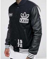 premium selection 12338 30431 ... adidas Originals Badge Varsity Jacket Ay9148 ...