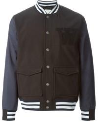 Wood Wood Varsity Bomber Jacket