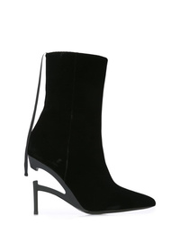 Unravel Project Pointed Ankle Boots