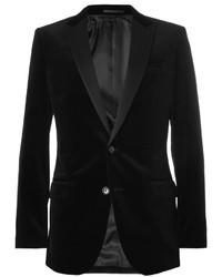 J.Crew Slim Fit Velvet Tuxedo Blazer