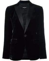 Dsquared2 Tuxedo Velvet Effect Blazer