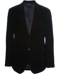 Giorgio Armani Two Button Velvet Blazer