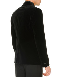 Alexander McQueen Velvet Evening Jacket Black