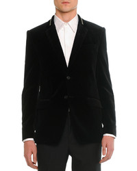 Givenchy Velvet Evening Jacket Black