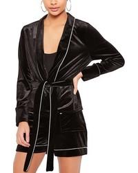 Velvet pajama blazer medium 951947