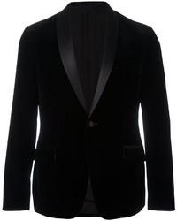 Z Zegna Velvet Shawl Collar Tuxedo Jacket