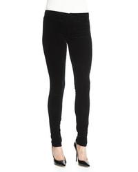 J brand jeans 815 mid rise super skinny velvet jeans black medium 479538