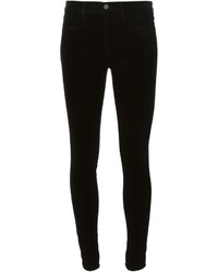Velvet skinny trousers medium 344270