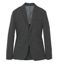 Black and white vertical striped blazer uk