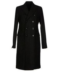 Black Vertical Striped Coat