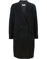 Alberto Biani Pinstripe Oversize Coat