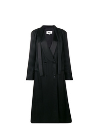 MM6 MAISON MARGIELA Striped Double Breasted Coat