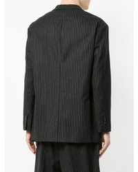 Neil Barrett Pinstriped Double Breasted Jacket