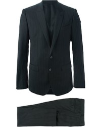 Pinstripe three piece suit medium 434038