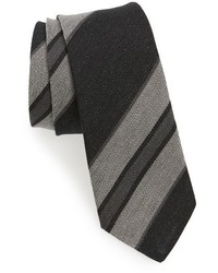 Alexander Olch Stripe Linen Tie