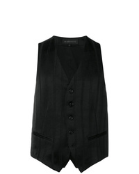 Ann Demeulemeester Striped Waistcoat