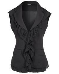 Morgan Izar Waistcoat Noir