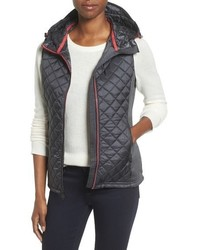 MICHAEL Michael Kors Michl Michl Kors Mixed Media Hooded Vest