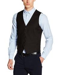 Suit Waistcoat Black L