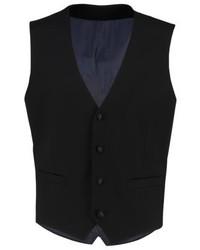 Esprit Suit Waistcoat Black