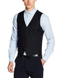 Suit Waistcoat Blue L