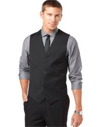 Tommy Hilfiger Black Solid Classic Fit Vest