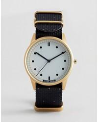 Hypergrand Classic Black Nato Strap Watch