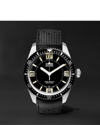Oris Divers Sixty Five 40mm Stainless Steel And Rubber Watch