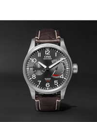 Oris Propilot Calibre 111 44mm Stainless Steel And Alligator Watch