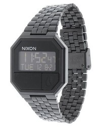 Re run digital watch all black medium 4123168