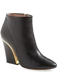 Black wedge ankle boots original 9441778
