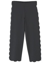 Mango Bee Trousers Black