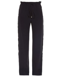 Balenciaga Raw Edge Wide Leg Trousers